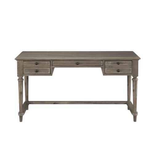 FL 經典復古雕刻實木書桌