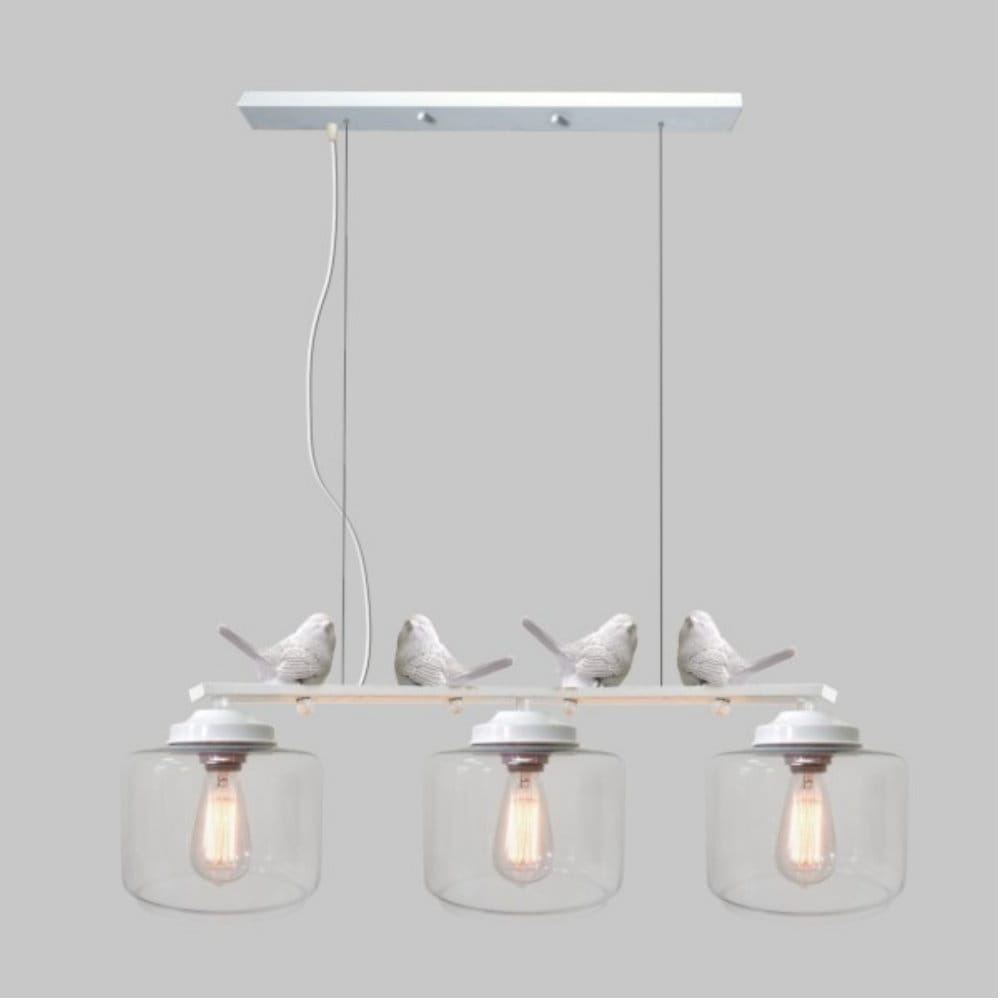 小麻雀 - 3燈吊燈